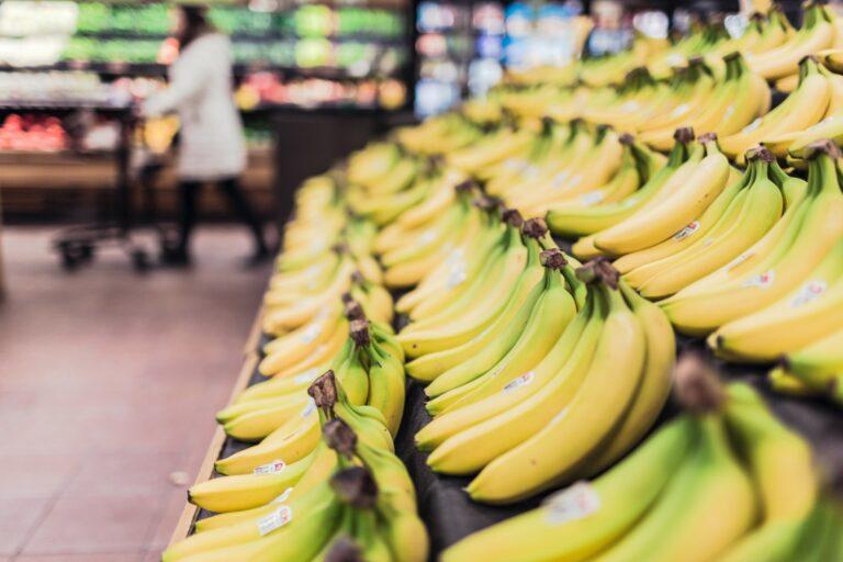Bananen in de supermarkt
