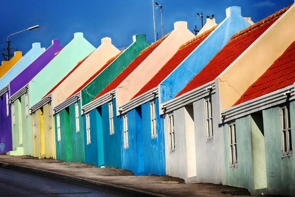 Studentenhuis op Curaçao