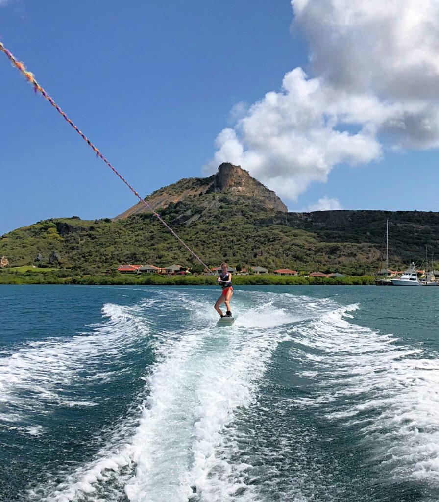 wakeboarden op curacao